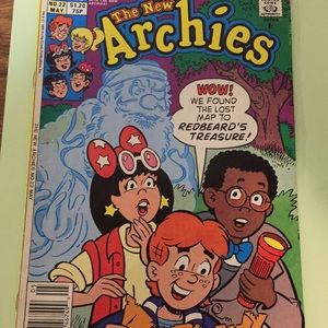 Vintage Archie comic, The New Archies,
